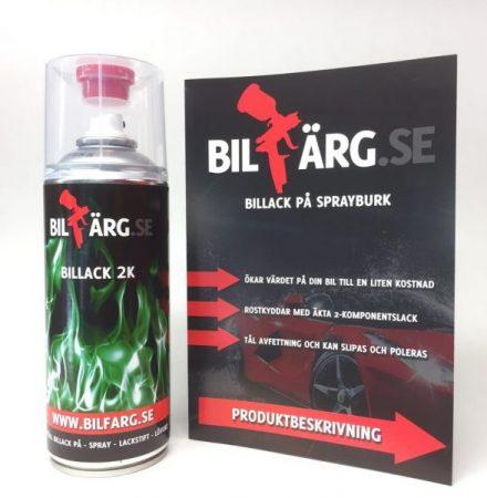 Billack på sprayburk Solid 2 komponent