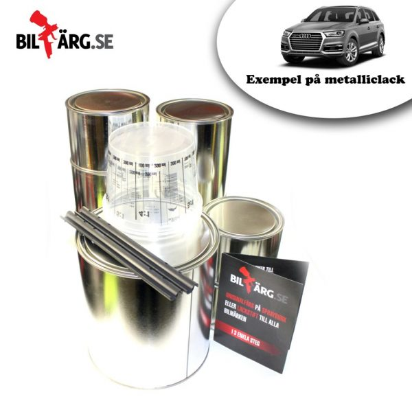 Billack metallic lackpaket