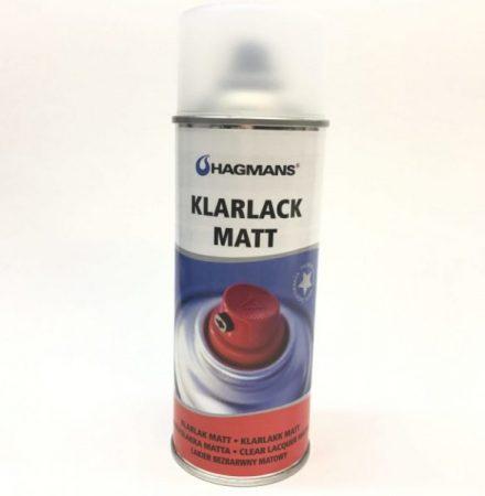 Matt klarlack på sprayburk 1 komponent