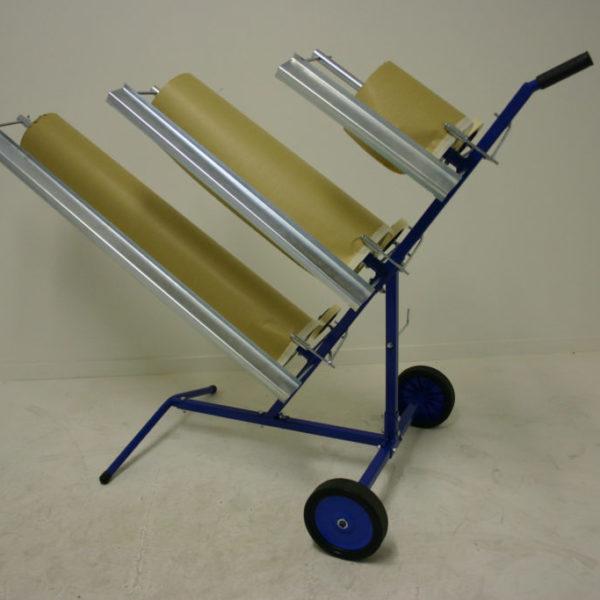 Maskeringsvagn för papper
