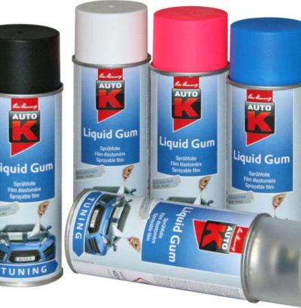 Liquid gum på sprayburk