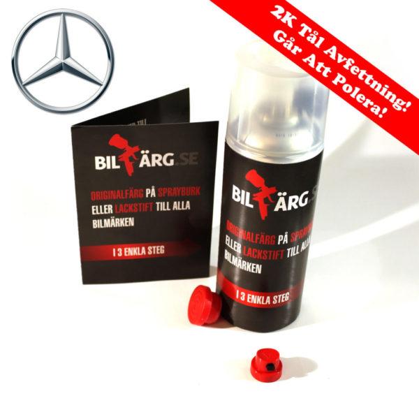 Bättringsfärg / Sprayfärg Mercedes