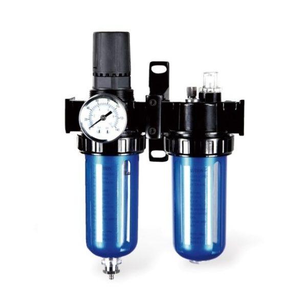 Filterregulator med vattenavskiljare