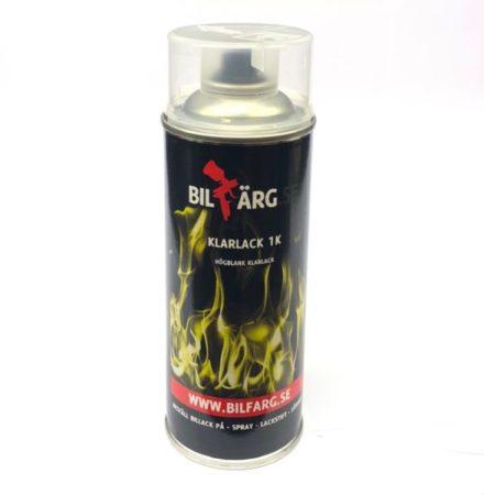 Klarlack på sprayburk 1 komponent