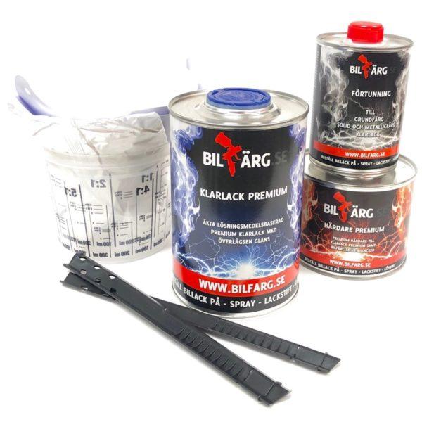 Klarlack för Candy Transparent 0,85L kit