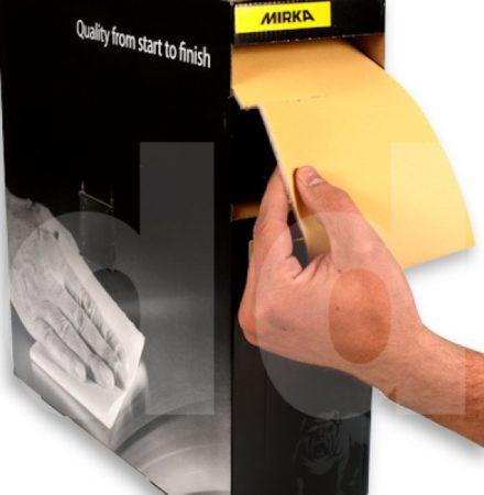 Slippapper kit för hand 6st ark olika storlekar
