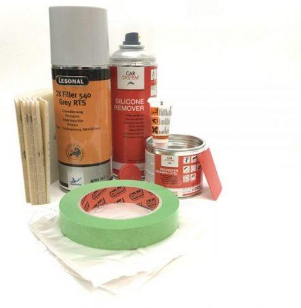 Sprayfärg tillbehör 2-komponent paket