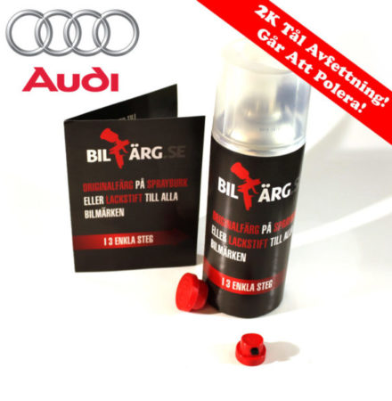 Audi Bättringsfärg / Sprayfärg