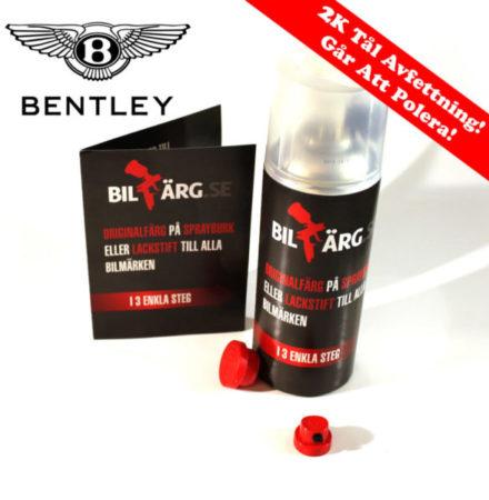 Bentley Bättringsfärg / Sprayfärg