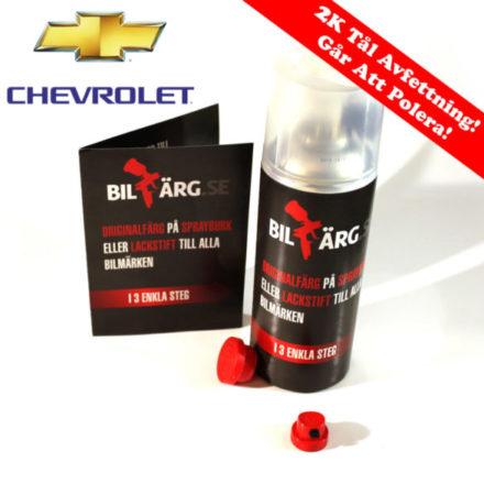 Chevrolet Bättringsfärg / Sprayfärg