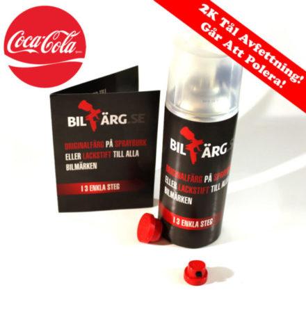 Coca Cola Bättringsfärg / Sprayfärg