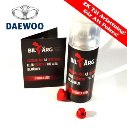 Daewoo Bättringsfärg / Sprayfärg Daewoo