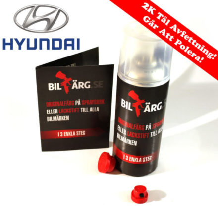 Hyundai Bättringsfärg / Sprayfärg