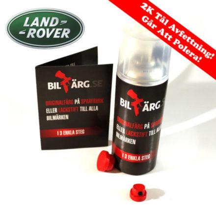 Land Rover Bättringsfärg / Sprayfärg