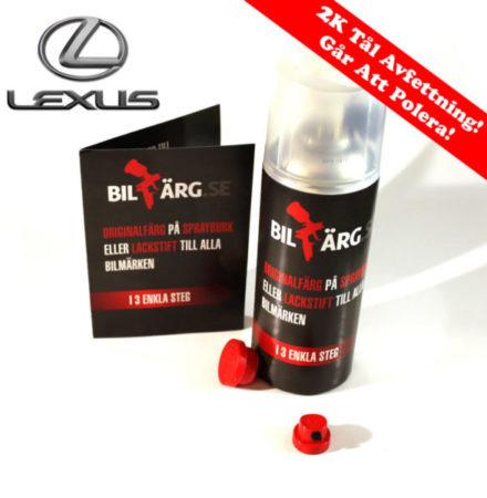 Lexus Bättringsfärg / Sprayfärg