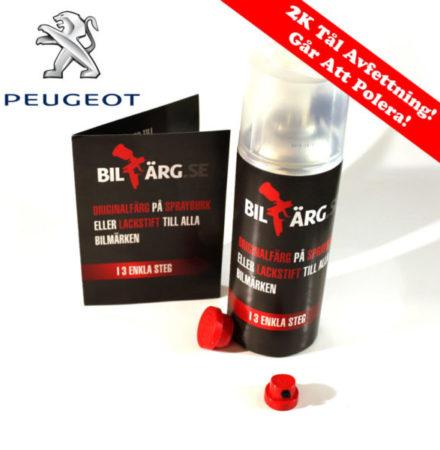 Peugeot Bättringsfärg / Sprayfärg