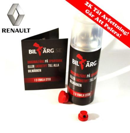 Renault Bättringsfärg / Sprayfärg