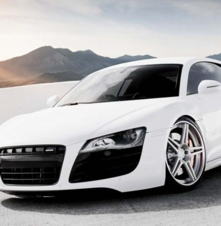 Audi VW LC9A Pure White