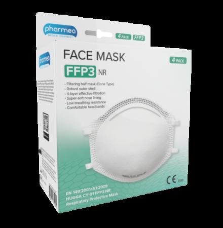 Skyddsmask FFP3 Coronavirus covid-19 4-pack