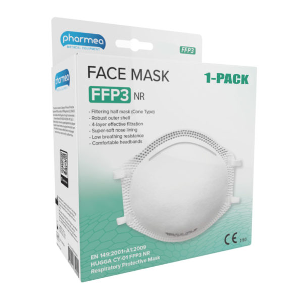 Skyddsmask FFP3 Coronavirus covid-19 OBS! 1 st mask