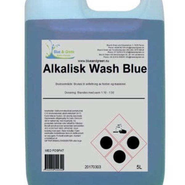 Alkalisk avfettningsmedel Wash blue 5L