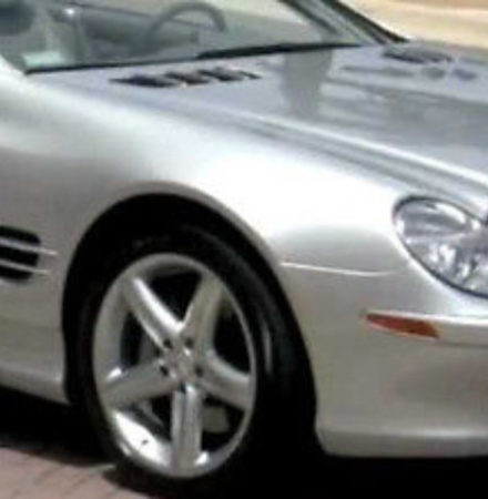 Mercedes 744 silver metallic