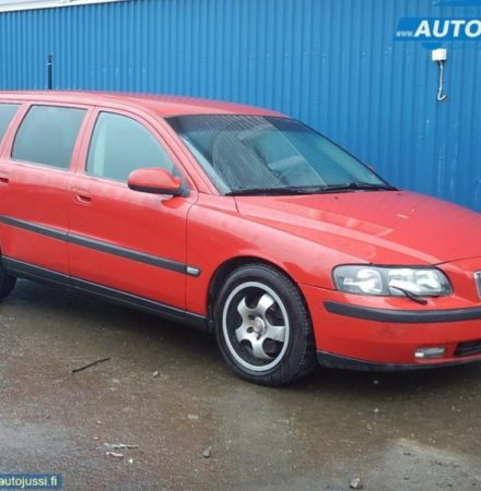Volvo 601 classic röd