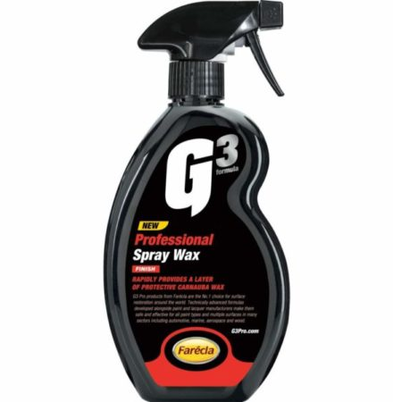 G3 Professional Spray Wax 500ml spray wax