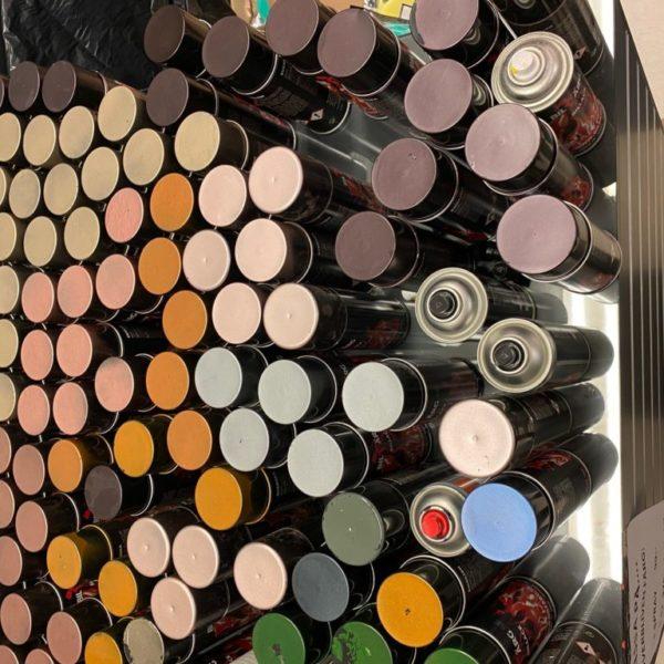 Överblivna sprayburkar endast 49 kronor ordpris 349:-