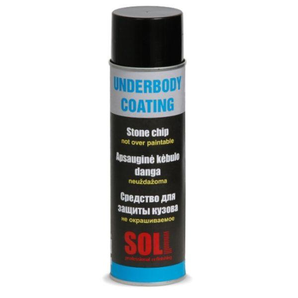 Body spray ej överlackeringsbar (svart) 500ml
