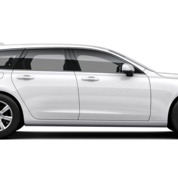 Volvo färgkod 614 Ice White