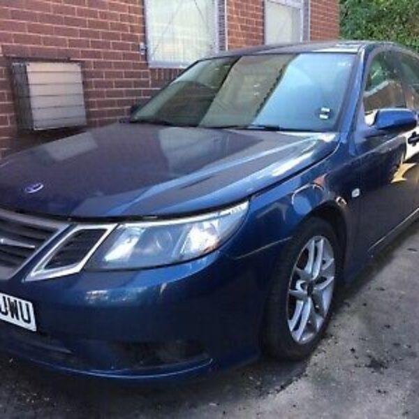 Saab 300 Fusion Blue metallic