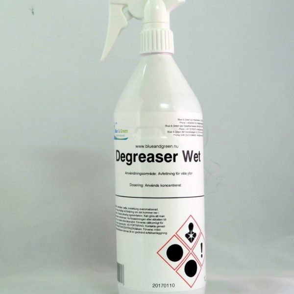 Blue & green degreaser wet avfettning 1L