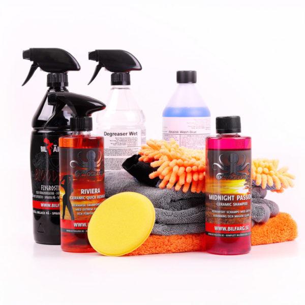 Biltvätt paket Rejäl Tvätt+Glans