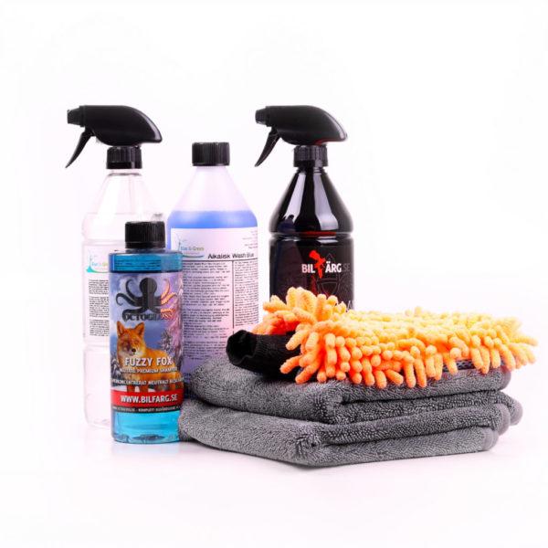 Biltvätt paket Rejäl Tvätt
