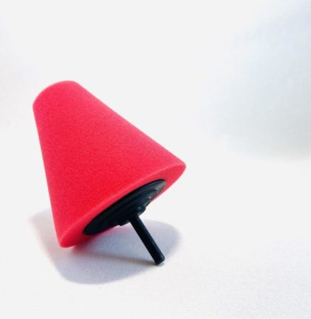 ShineMate Polerkona Röd - Extra Mjuk
